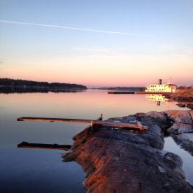 Morgon på Nämdö 2013.