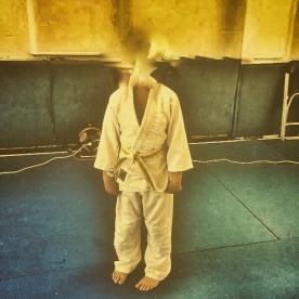 Simon. Judotävling.